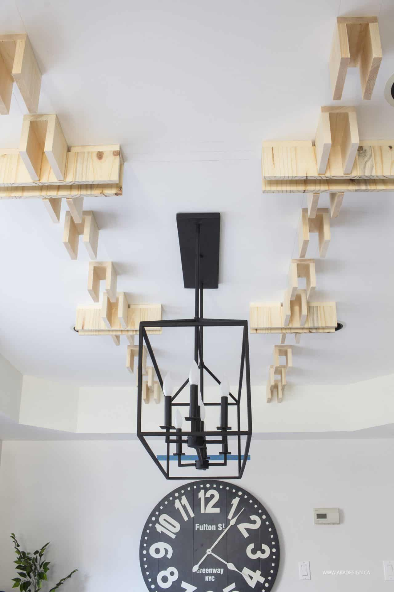 all base boxes on ceiling