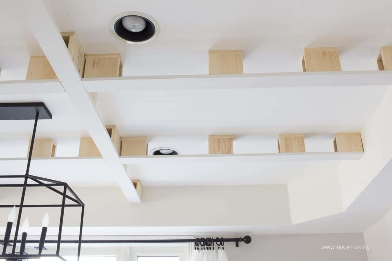 Bottom On Coffered Ceiling