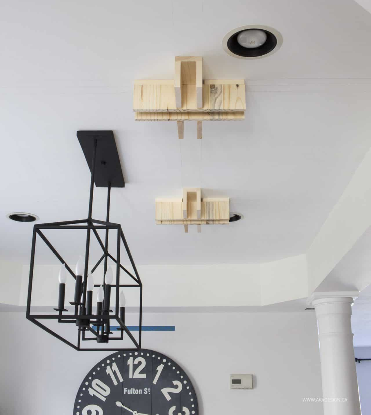 cross boxes on ceiling