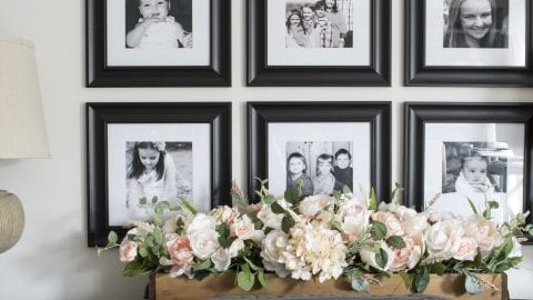 How to Decorate with Family Photos (Love Your Home Day 17)
