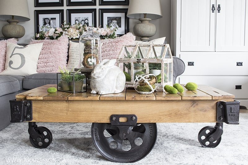 spring factory cart coffee table