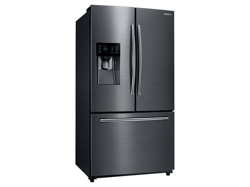 Samsung Black Stainless Fridge RF263BEAESG