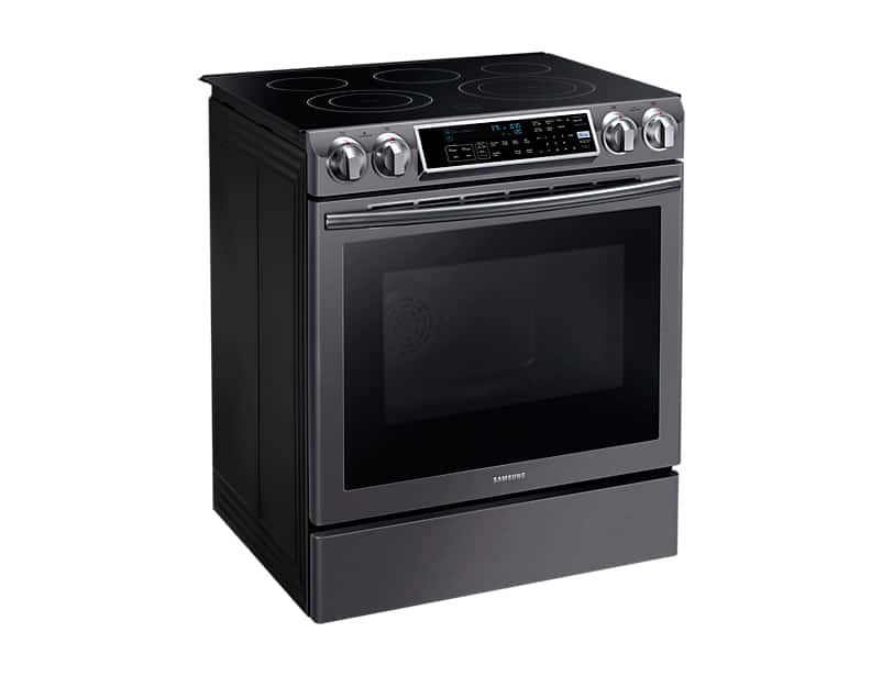 Samsung Electric Range Black Stainless NE58K9500SG
