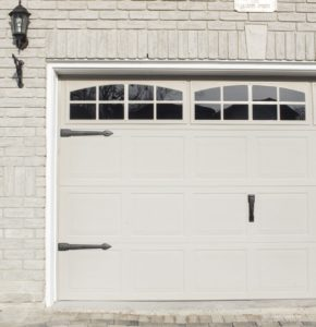 curb appeal garage detail