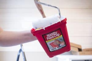 mini roller in HANDy Paint Cup