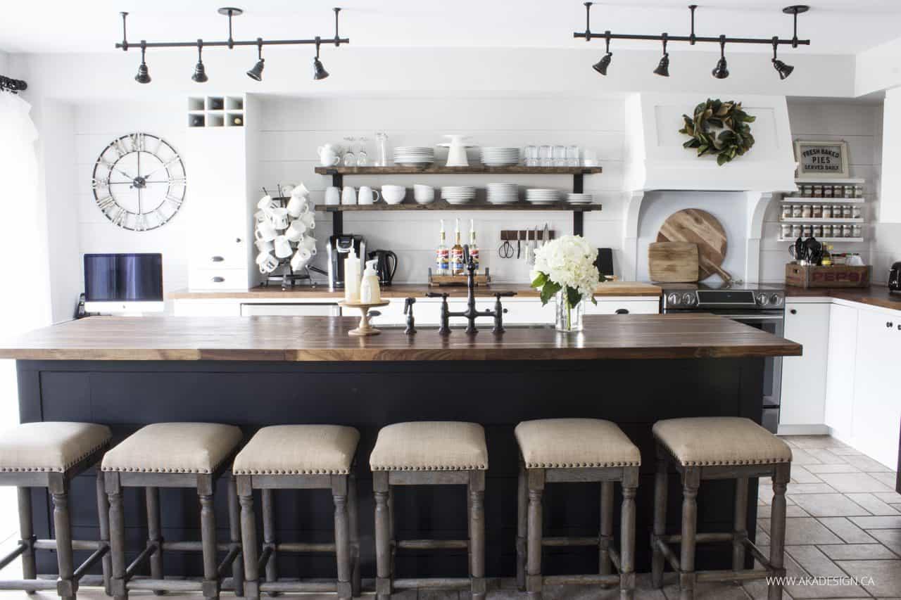 AKA Design | modern farmhouse kitchen