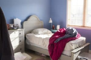 Lilly's room before