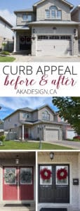 curb appeal before and after