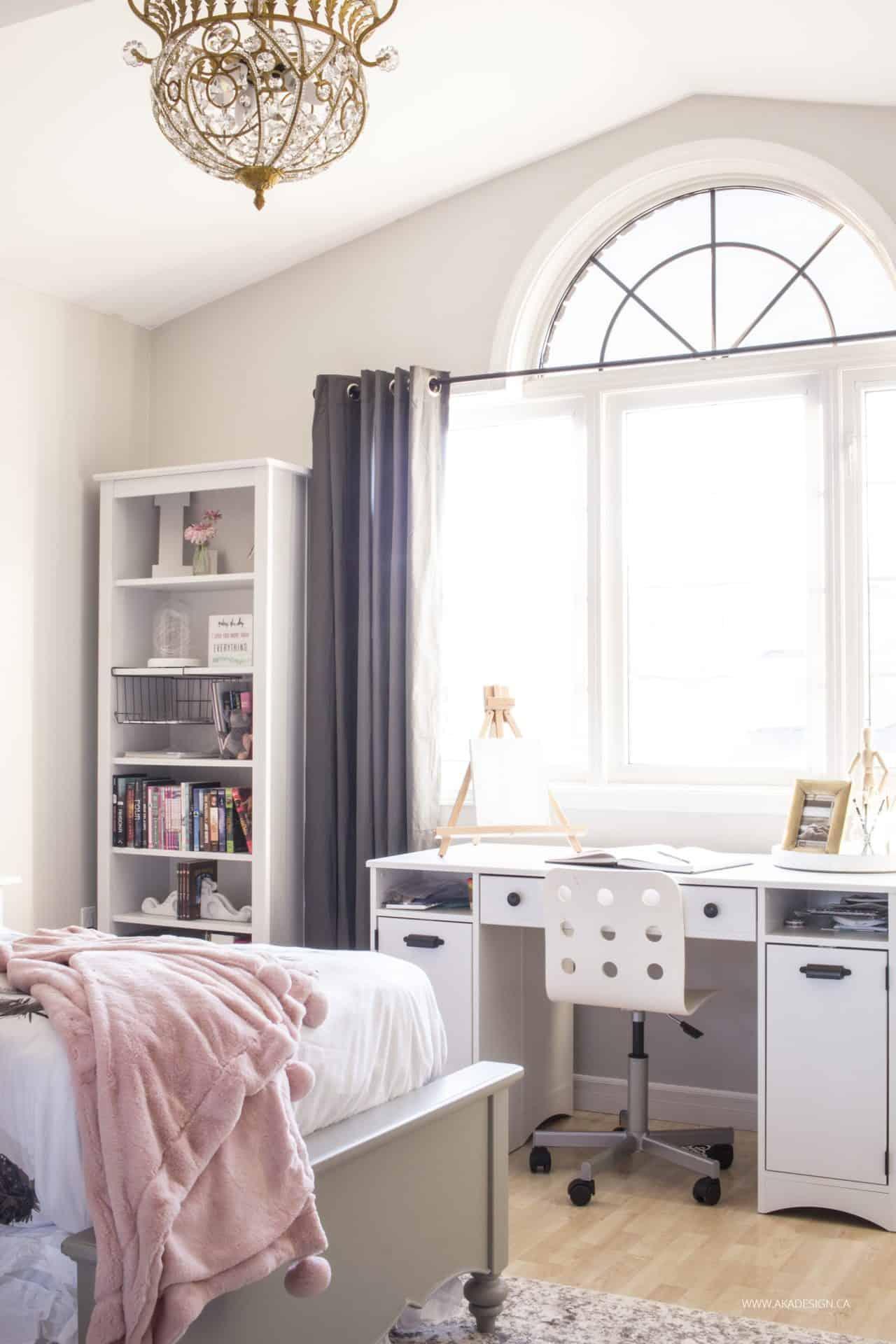 Pink bedroom wall ideas for Room decor laurdiy