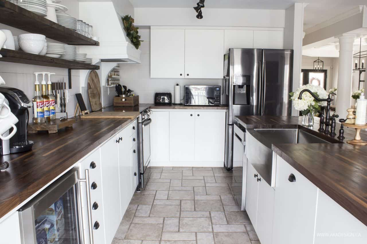 Our modern farmhouse kitchen makeover the reveal - Images of farmhouse kitchens ...