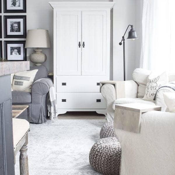 AKA Design living room armoire