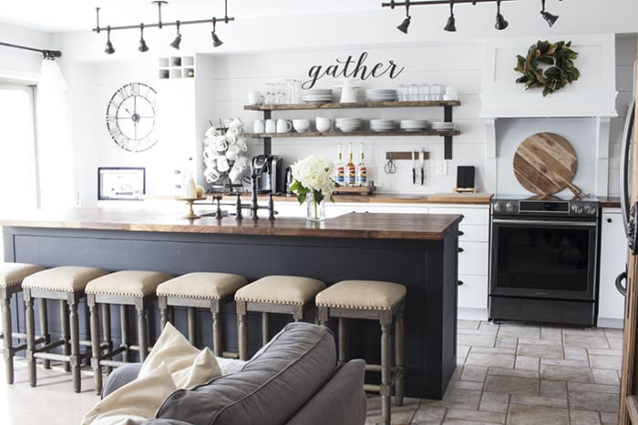 aka design modern farmhouse kitchen makeover - Modern Farmhouse Kitchen