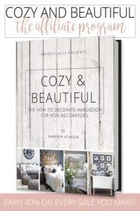 Cozy and Beautiful Affiliate Program