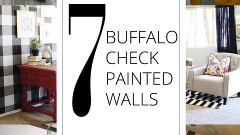 7 Buffalo Check Painted Walls to Try