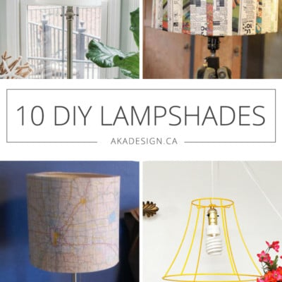 10 DIY Lampshades That Might Just Work in Your Space!