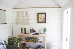 DIY Shiplap Walls Finding Silver Pennies