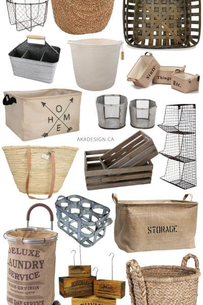Farmhouse Baskets