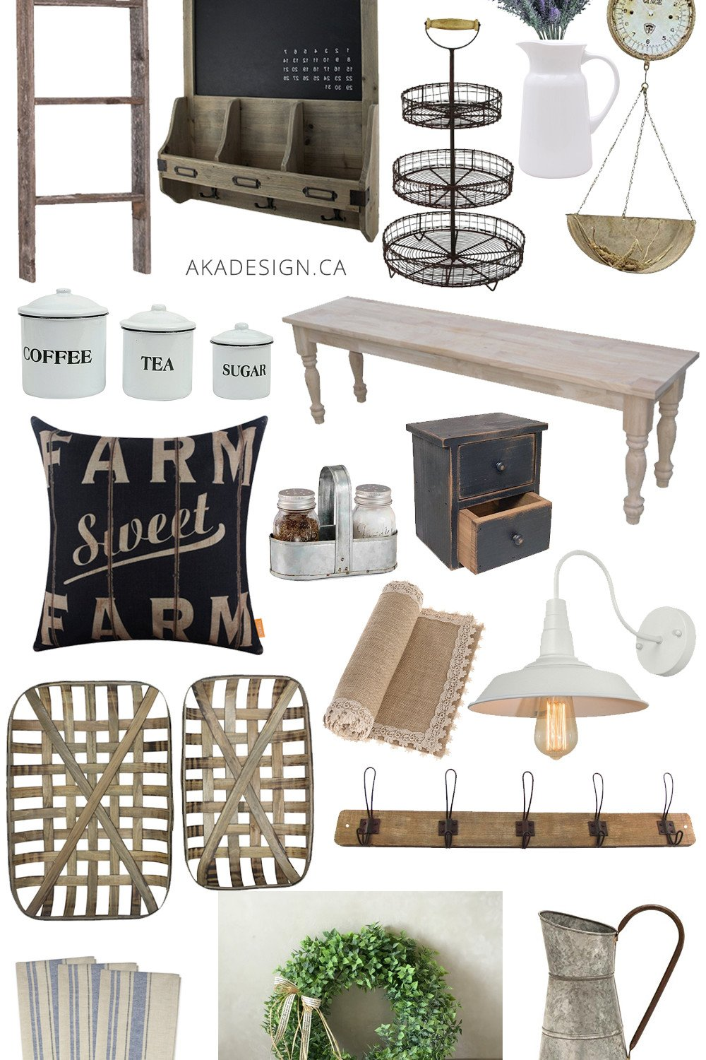 French Farmhouse Decorating Finds from Amazon