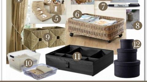 Seasonal Clothes Storage and Organization