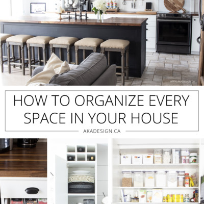 How to Organize Every Space in Your House | Conquer Your Clutter | Get and Stay Organized