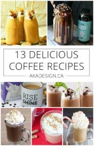 13 delicious coffee recipes
