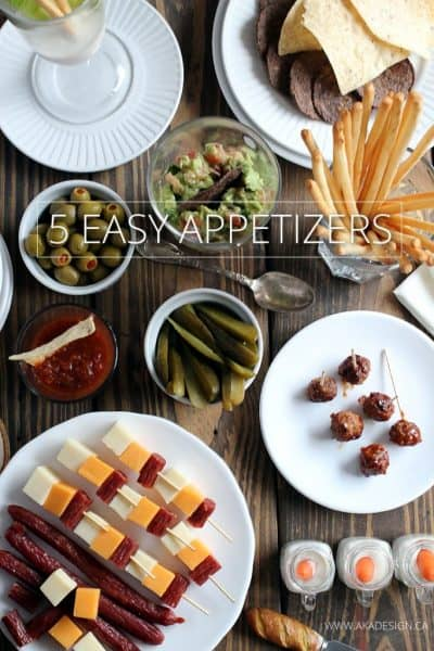 Easy Appetizers for New Year's Eve