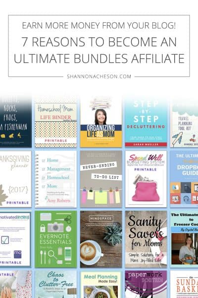 7 Reasons to Become an Ultimate Bundles Affiliate | Earn More Money From Your Blog!