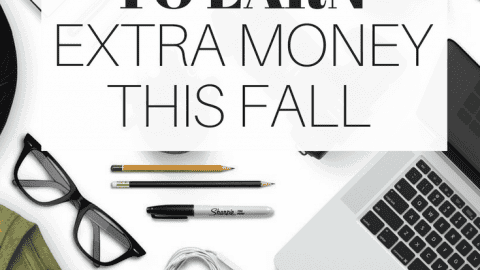 8 Ways to Make Extra Money this Fall
