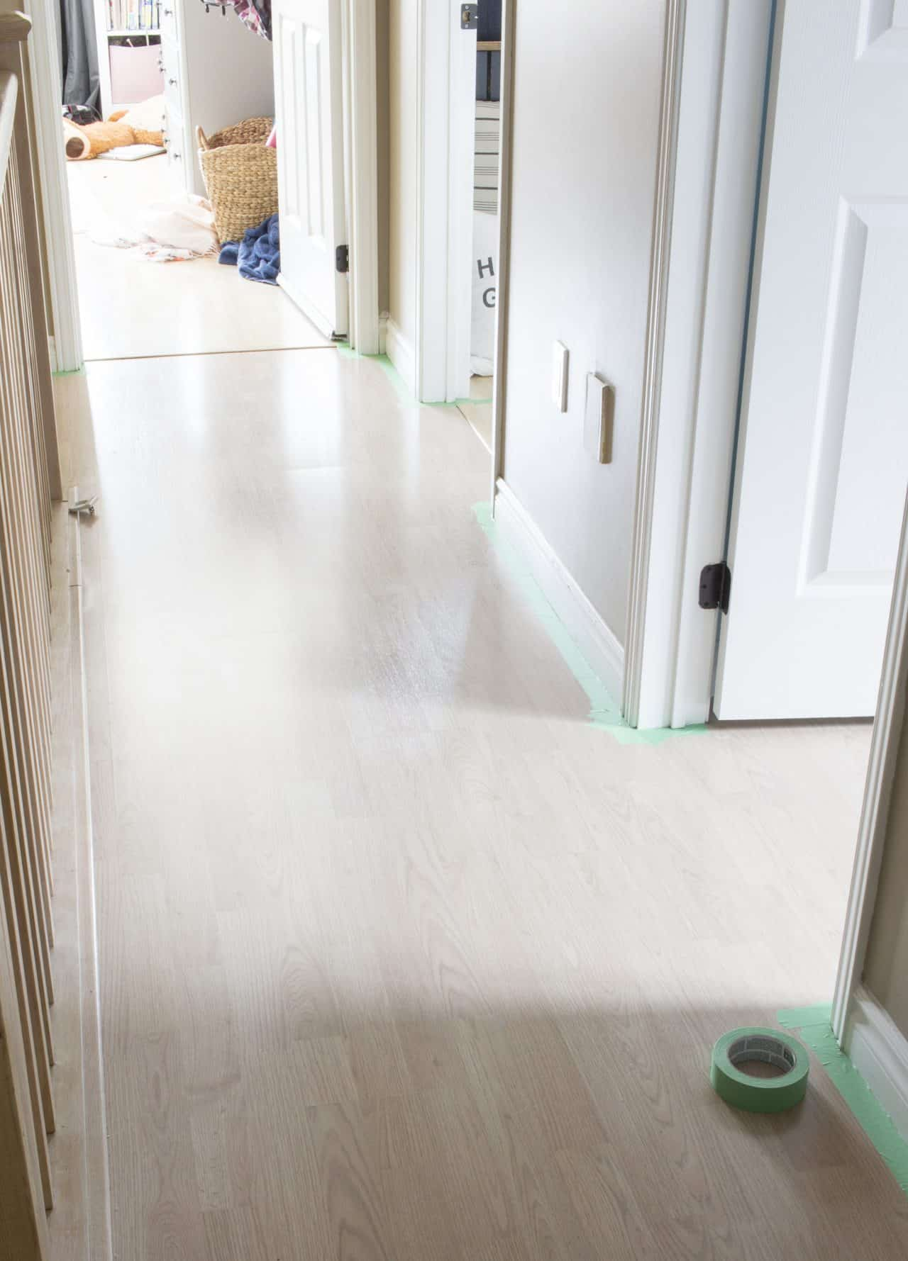 AKA Design Painter's Mate Green tape on floor