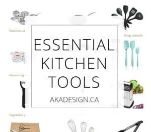 Essential Kitchen Tools sq