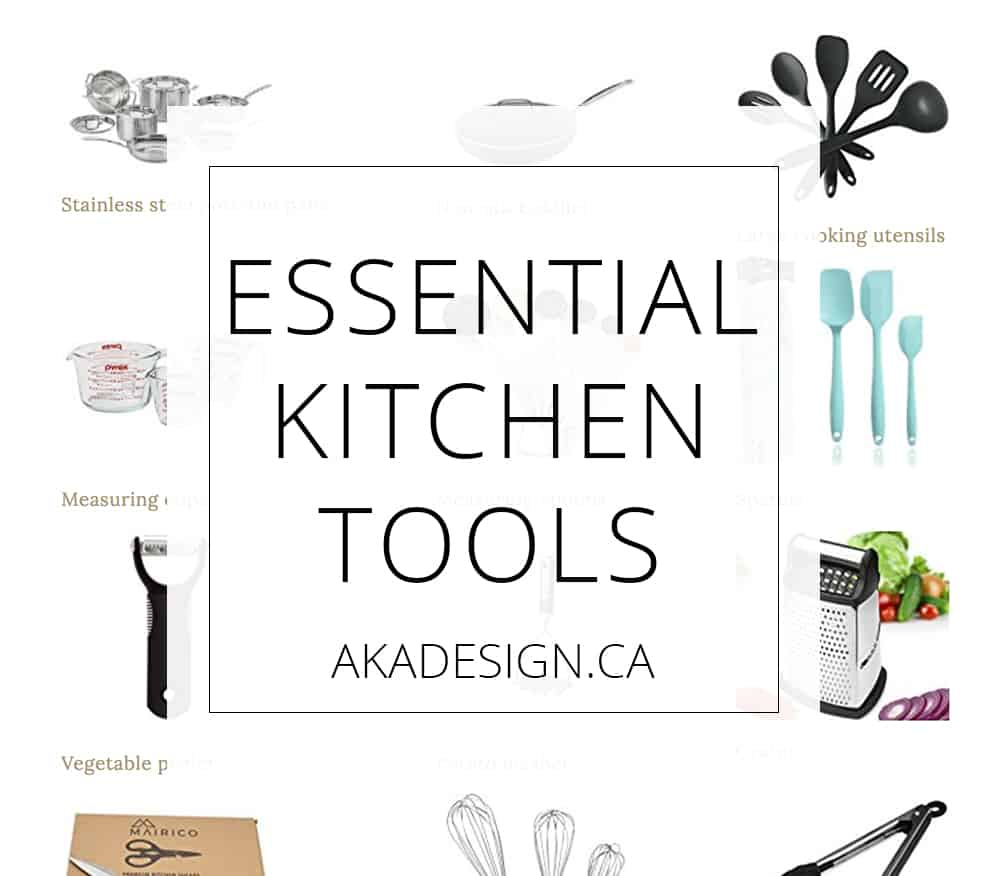 Essential Kitchen Tools sq