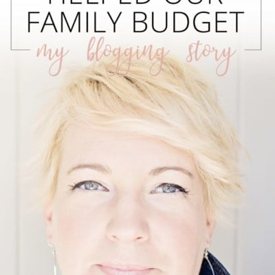 How I Finally Helped Our Family Budget: My Blogging Story