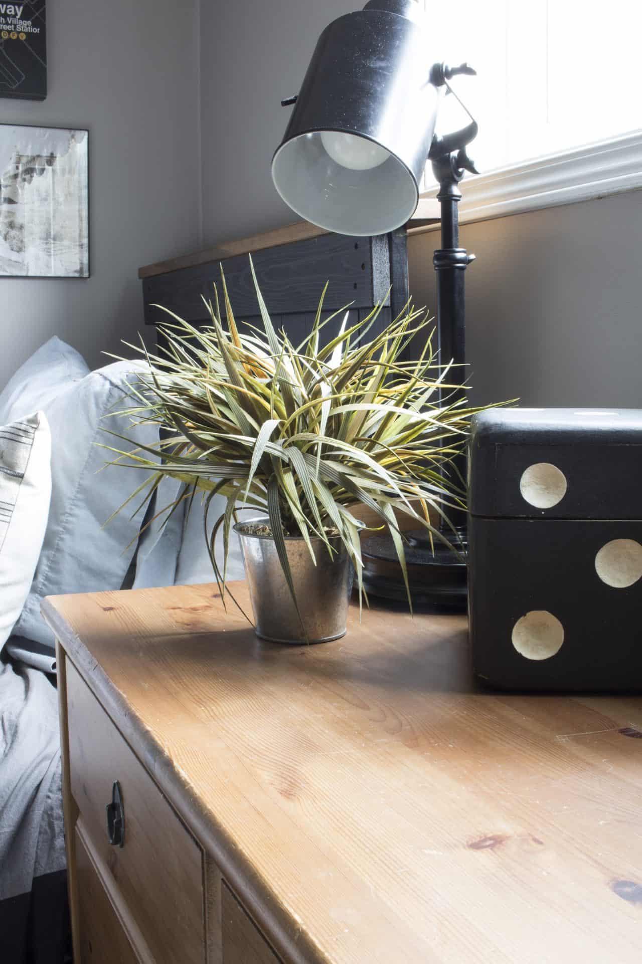 Rustic Industrial Bedroom: A Rustic Industrial Bedroom For A Teenage Boy