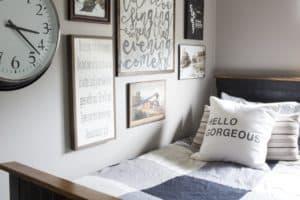 Rustic Industrial Bedroom for a Teenage Boy