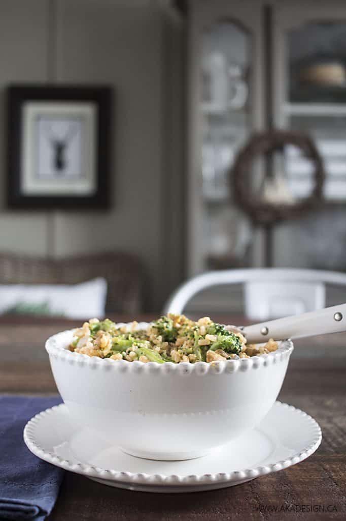 Chicken and Rice Casserole from What's Already in the Pantry