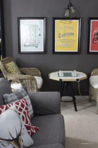 AKA Design Behr Family Room