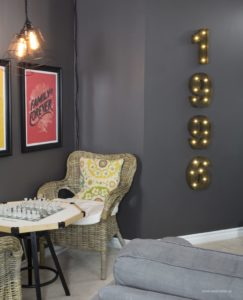 AKA Design Family Room Marquee Numbers