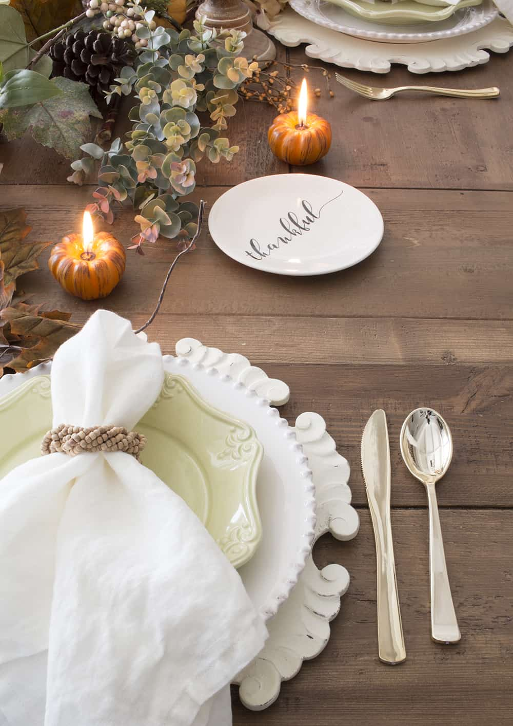 Home Made Lovely fall tablescape thumbnail