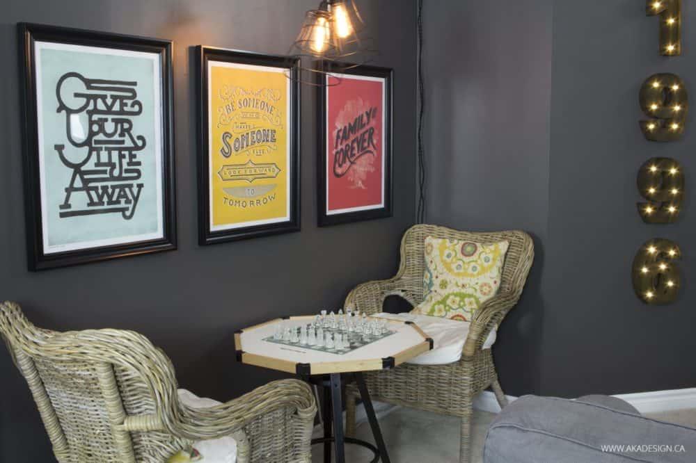 AKA Design family room game table