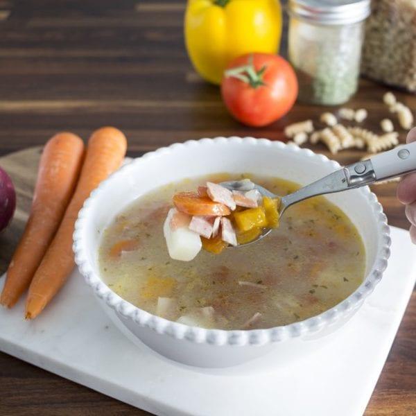 Easy Homemade Italian Wedding Soup   THE Soup