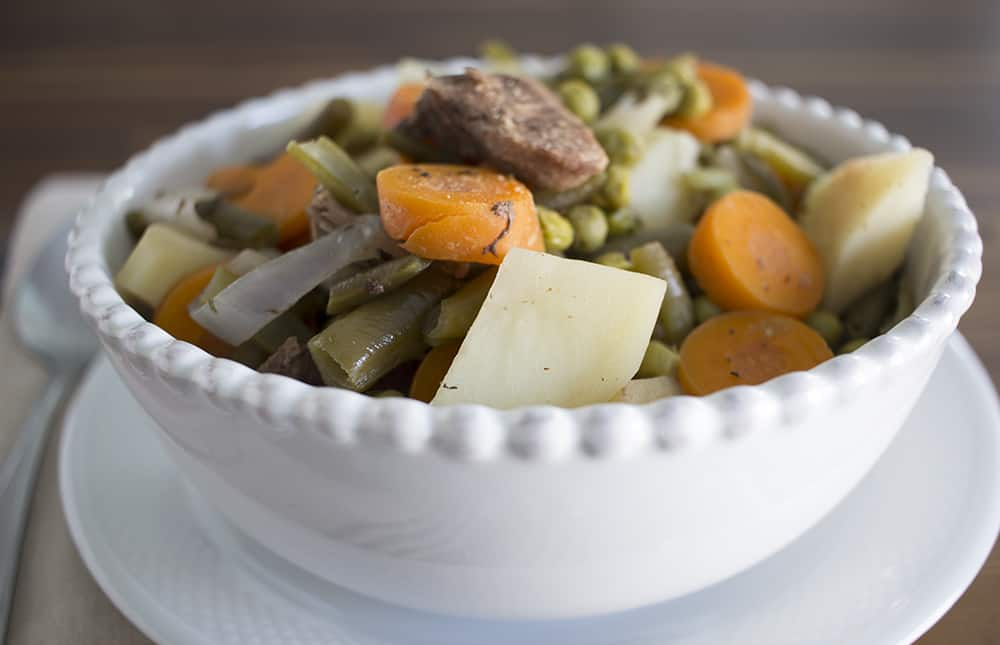 beef stew in a crockpot