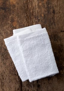 clean stinky towels