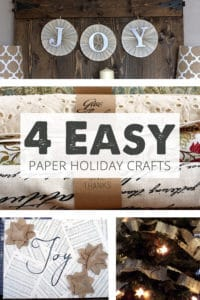 4 easy paper holiday crafts to make this season