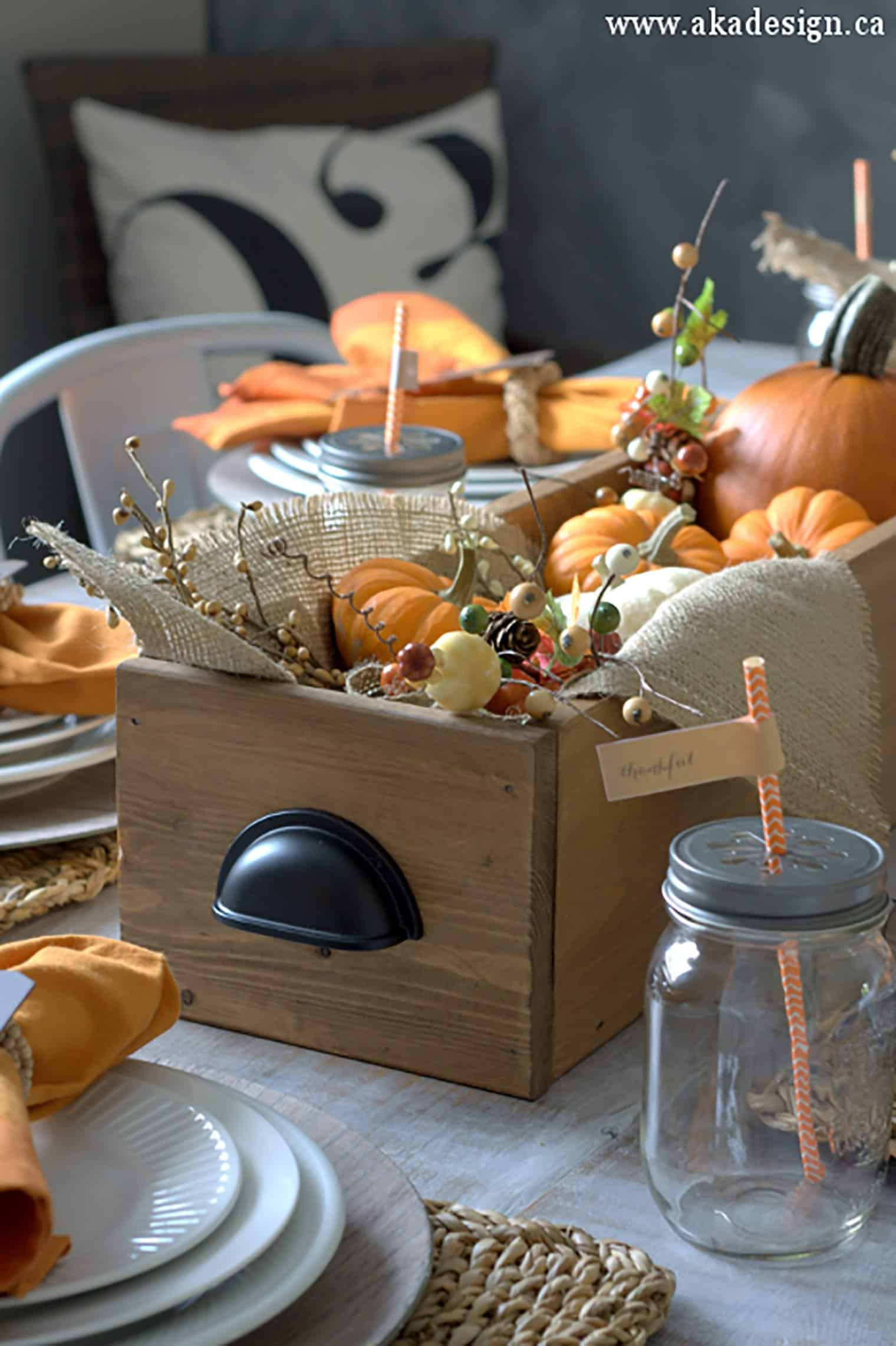 How to make a table box diy wood centerpiece