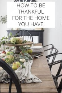 how to be thankful for the home you have