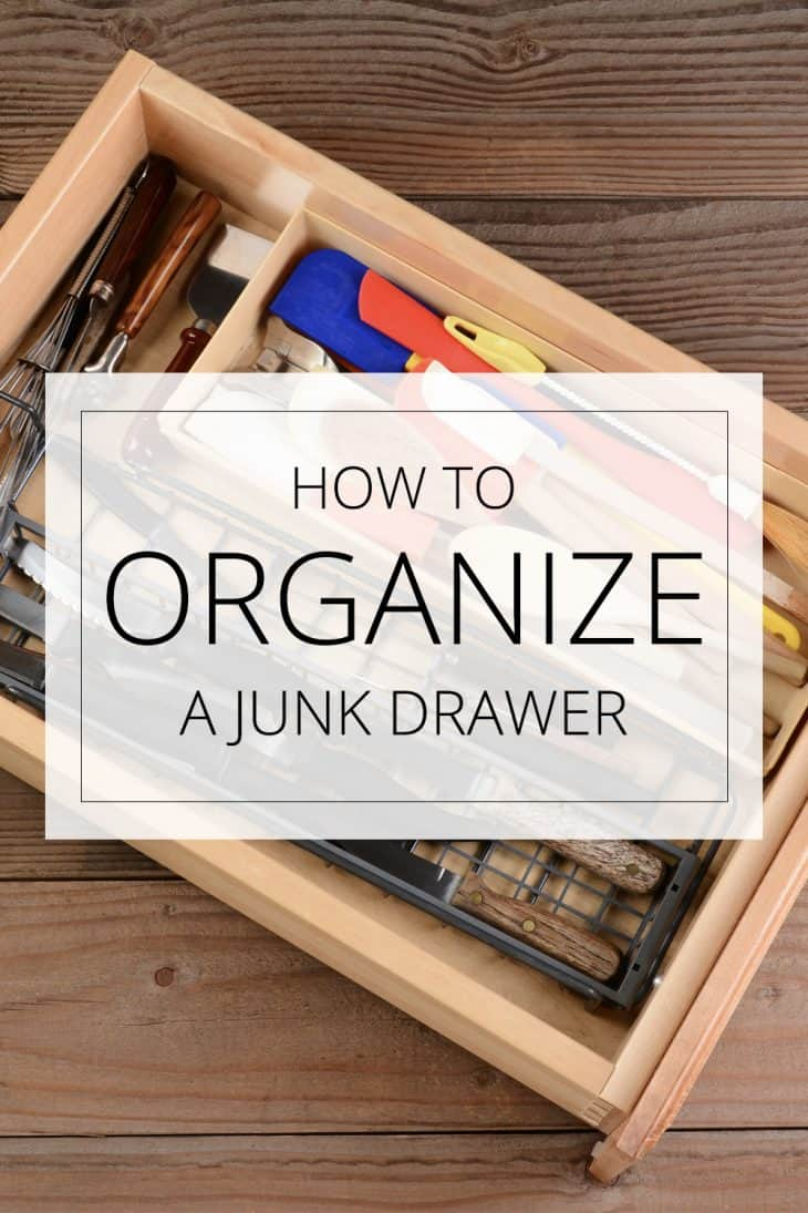 how to organize a junk drawer
