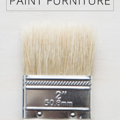 How to Paint Furniture (Love Your Home Day 28)