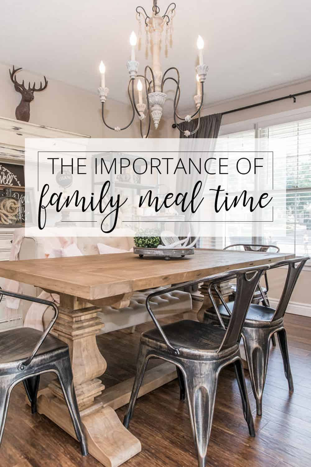 the importance of family meals Regular family meals are probably the best psychological 'daily vitamin' parents  can give their children, says carleton kendrick, a family therapist in millis,.