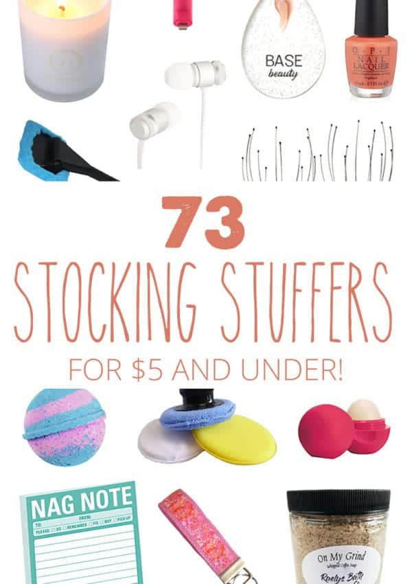73 Stocking Stuffers for $5 and Under – Something for Everyone on Your List!