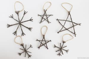 DIY Dreamer Twig-Ornaments